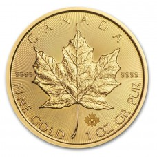 1 oz $50 CAD Canadian Gold Maple Leaf (Random Year)